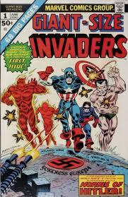 invaders favorite comic book title
