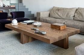 Wooden Coffee Table Big Wooden Coffee Table Solid Hardwood Construction Rustic Wood
