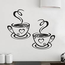 Low Cost Wall Decor Compare Prices On Coffee Wall Decor Kitchen Online Shopping Buy