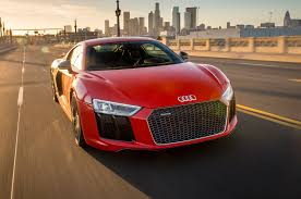 Audi R8 Red - 2017 audi r8 v10 plus first test review