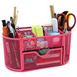 Pink Desk Organizers And Accessories Pink Desk Supplies Organizers Dispensers Office