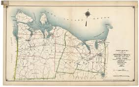 Suffolk County Map Print By Index Map No 1 Of A Part Of Suffolk County North Side Sound