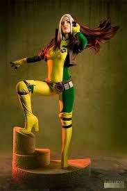 Men Rogue Halloween Costume Supposed Rogue Cosplay Xmen Cosplay