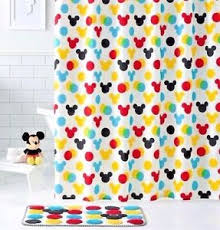 Mickey Mouse Bathroom Accessory Set Mickey Mouse Bathroom Home U0026 Garden Ebay