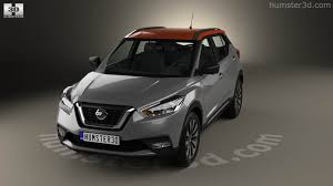 nissan kicks 360 view of nissan kicks 2017 3d model hum3d store