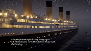 game developer releases real time simulation of titanic u0027s final