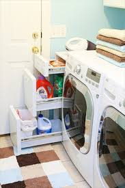 Laundry Room Detergent Storage Laundry Room Drawers Storage Could Put A Small Trash Can In The