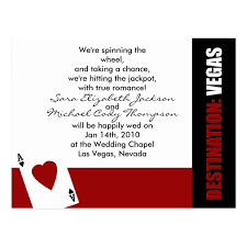 vegas wedding invitations wedding invitations creative las vegas wedding invites pictures