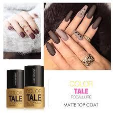 wholesale focallure matte top coat nail gel polish long lasting