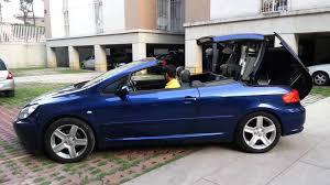 peugeot 2 door sports car peugeot 307 cc 2004 youtube