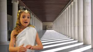 Photograph Ruins of the Parthenon  the main temple to the ancient Greek goddess Athena SchoolWorkHelper