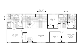 Single Wide Mobile Homes Floor Plans And Pictures Marlette Homes Floor Plans Mobile Kelsey Bass Ranch 58612