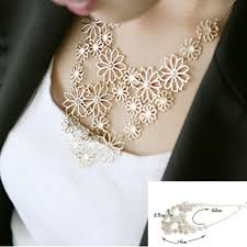 gold statement necklace jewelry images Hot sale brand design western style multilayer pendants rhinestone jpg