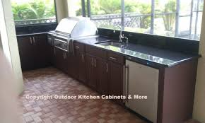 Outdoor Kitchen Sink Faucet by Oak Wood Cool Mint Shaker Door Outdoor Kitchen Cabinets Polymer