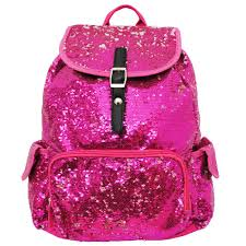 bling sequins backpack pink go cheer bag gym dance bags