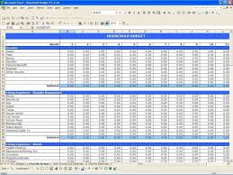 Monthly Expense Sheet Template Expense Spreadsheet Template Haisume