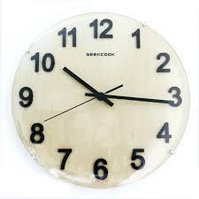 Silent Wall Clock Round Wall Clocks Large U2013 Philogic Co