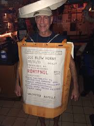 Jane Killer Halloween Costume Guy Walked Charleston Bar Dressed Drug