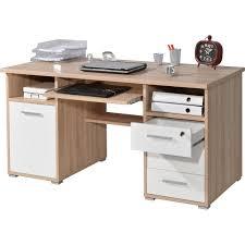 bureau avec tablette coulissante bureau secrétaire avec tablette coulissante 3 tiroirs 1 porte