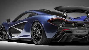 mclaren p1 concept the mclaren p1 farewell is dressed in stunning blue carbon
