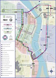 portland light rail map official map portland streetcar september 2015 transit maps