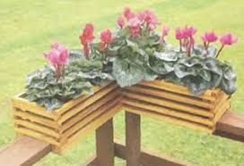 free deck railing planter plans woodwork city free woodworking plans