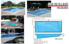 inground swimming pools inground spas pool builder
