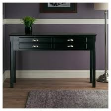 black console table with storage c shape console table modern tables by artefac in black prepare 1