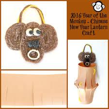 chinese new year monkey lantern craft for kids wikki stix