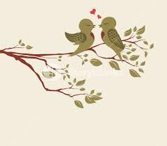 vector birds on branch royalty free stock image storyblocks