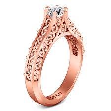 verlobungsring solitã r solitaire engagement ring 14k gold imagine diamonds
