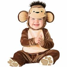 halloween costumes baby mischievous monkey infant halloween costume walmart com