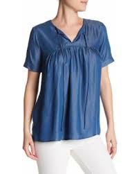 chambray blouse on sale now 57 chambray blouse