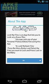 my files android lock my files for android free at apk here store