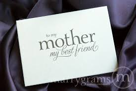 To My Bride Card To My Mother My Best Friend Wedding Day Card Mix Style
