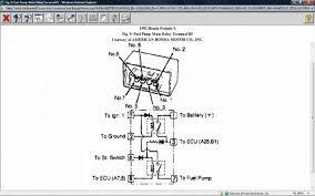 1992 honda prelude fuel pump relay electrical problem 1992