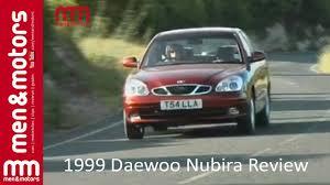 1999 daewoo nubira review youtube
