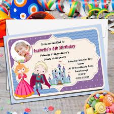 4th birthday wording free printable invitation design