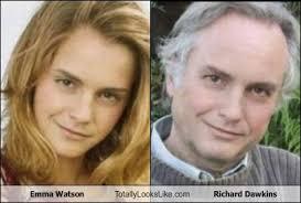 emma watson looks like emma watson totally looks like richard dawkins totally looks like