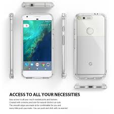 pixel car transparent amazon com google pixel xl case ringke fusion crystal clear pc