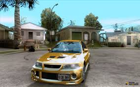 mitsubishi evo modded lancer evolution vi 1999 tunable for gta san andreas