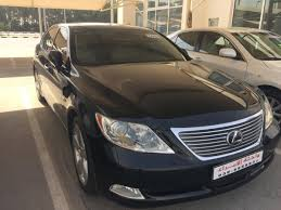 black lexus 2008 lexus ls 460 black 2008 for sale kargal uae