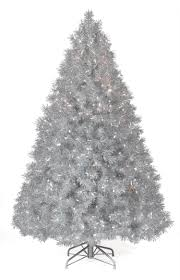 chic design silver tinsel christmas tree modern ideas trimsetter 7