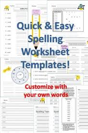 free spelling test printables spelling test spelling and printables