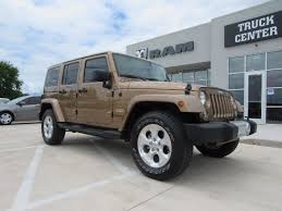 used 4 door jeep rubicon 2015 jeep wrangler unlimited 4x4 4 door suv gold used suv