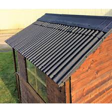 How To Re Roof A Shed With Onduline Corrugated Roofing Sheets by Bitumen Corrugated Sheets U0026 Trims Roofing Wickes Co Uk