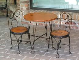 Iron Bistro Table Set Home Design Gorgeous Pier One Bistro Table And Chairs Set Home