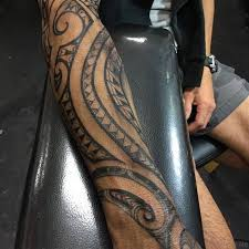 72 nice tribal tattoo for arm