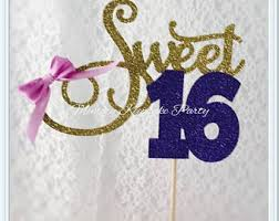 Sweet 16 Table Centerpieces Sweet 16 Centerpiece Etsy