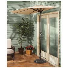 Sun Umbrella Patio Patio Patio Castlecreek Halfound Umbrella Umbrellas Patios